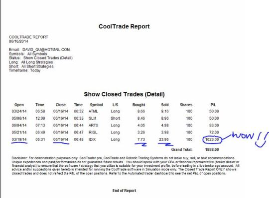 David_CTP_June16 report snapshot