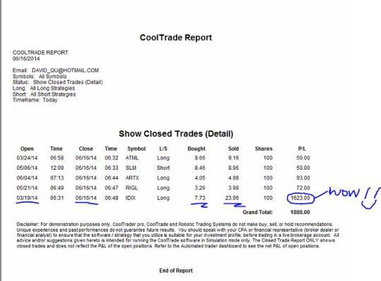 David_CTP_June16 report snapshot