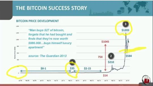 Bitcoin success story